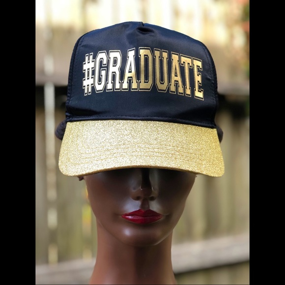"""""""Graduate"""" Inspired Cap"""